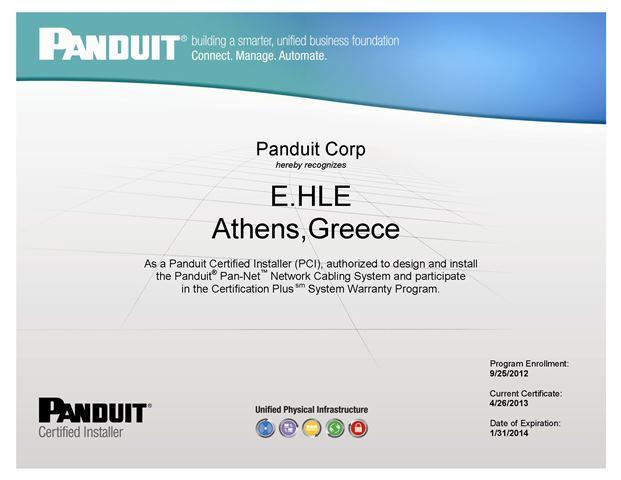 03. Technician Certificate NEW PCI Company Certificate